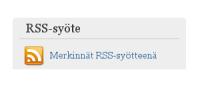RSS-syötteen linkki